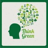 Ecological mind design Stock Photo