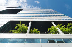 Ecological office building Stock Image