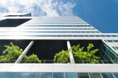 Ecological office building Stock Images