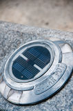 Ecological pavement light Stock Photos