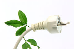 Ecological plug Stock Images