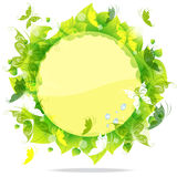 Ecological postcard Royalty Free Stock Images