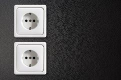 Ecological power outlet Royalty Free Stock Photo