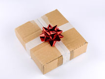 Ecological present box Stock Images