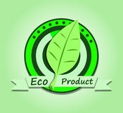 Ecological product Stock Image