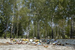 Ecological rubbish Stock Images