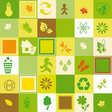 Ecological seamless Stock Images