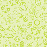 Ecological seamless pattern background Royalty Free Stock Image