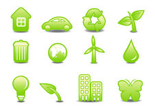 Ecological signs Royalty Free Stock Photography