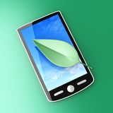 Ecological Smartphone Royalty Free Stock Photos