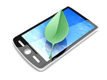 Ecological Smartphone Stock Image