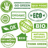 ecological stamps Royalty Free Stock Photography
