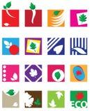 Ecological symbols Stock Images