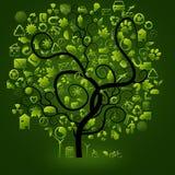 Ecological symbols Royalty Free Stock Image