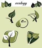 Ecological symbols Stock Photography