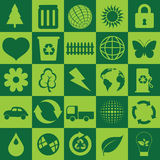 Ecological symbols Royalty Free Stock Photography