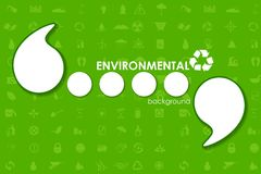 Ecological Template Stock Photography