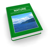 Ecological textbook royalty free illustration
