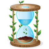 Ecological timer Royalty Free Stock Photography