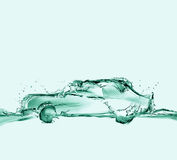 Ecologically-Friendly Water Car Stock Image