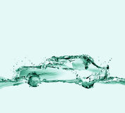 Ecologically-Friendly Water Car Royalty Free Stock Photo