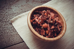 Ecologically pure food: vinaigrette Stock Image