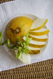 Ecologically pure melon Royalty Free Stock Photography