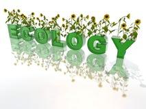 Ecologie stock illustratie