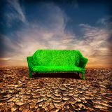 Ecologie en globaal het verwarmen concept Royalty-vrije Stock Foto