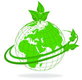 Ecologie van de aarde vector illustratie