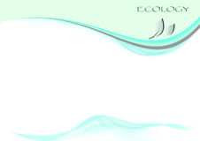 Ecologiepagina Stock Afbeelding