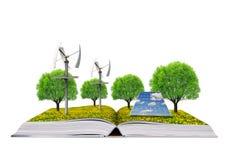 Ecologisch boek Royalty-vrije Stock Foto