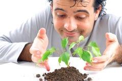 Ecologisch concept stock afbeeldingen
