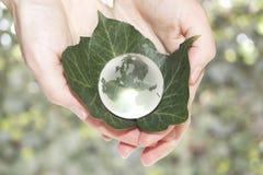 Ecologisch concept royalty-vrije stock afbeelding