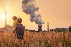 Ecologisch conceptenbeeld Royalty-vrije Stock Afbeeldingen