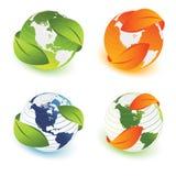 Ecologische aarde Stock Afbeeldingen