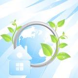Ecologische achtergrond Stock Foto's