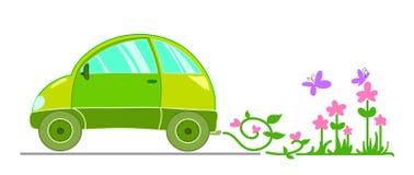 Ecologische auto stock illustratie
