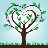 Ecologische boom Royalty-vrije Stock Afbeeldingen