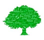 Ecologische boom Stock Afbeeldingen
