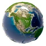 Ecologische catastrofe van de Aarde royalty-vrije stock foto