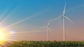 Ecologische energie stock videobeelden