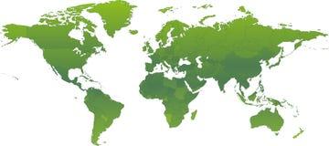 Ecologische Groene Atlas royalty-vrije illustratie