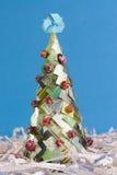 Ecologische Kerstmisboom Stock Afbeeldingen