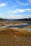 Ecologische ramp in de stad van Karabash, de vuilste plaats op de planeet Royalty-vrije Stock Fotografie