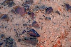 Ecologische ramp in de stad van Karabash, de vuilste plaats op de planeet Royalty-vrije Stock Afbeelding
