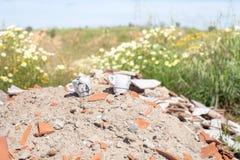 Ecologische schade stock foto