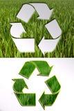 Ecologische tekens Stock Afbeeldingen