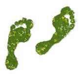 Ecologische voetafdruk Royalty-vrije Stock Afbeelding