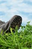 Ecologische voetafdruk Royalty-vrije Stock Foto